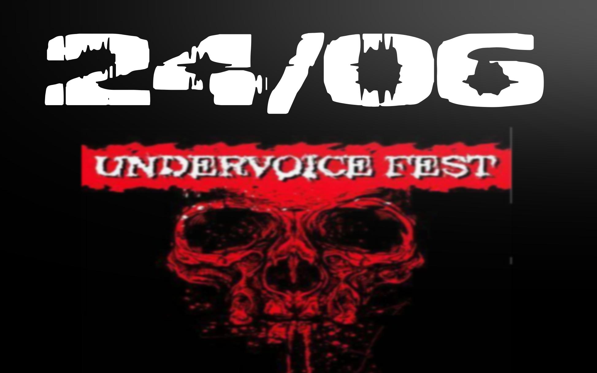 EVENTO: Undervoice Fest