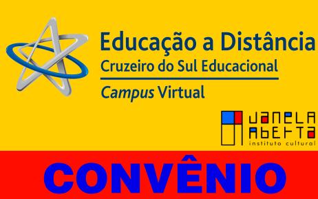 Convênio Educacional – Cruzeiro do Sul S/A & Janela Aberta